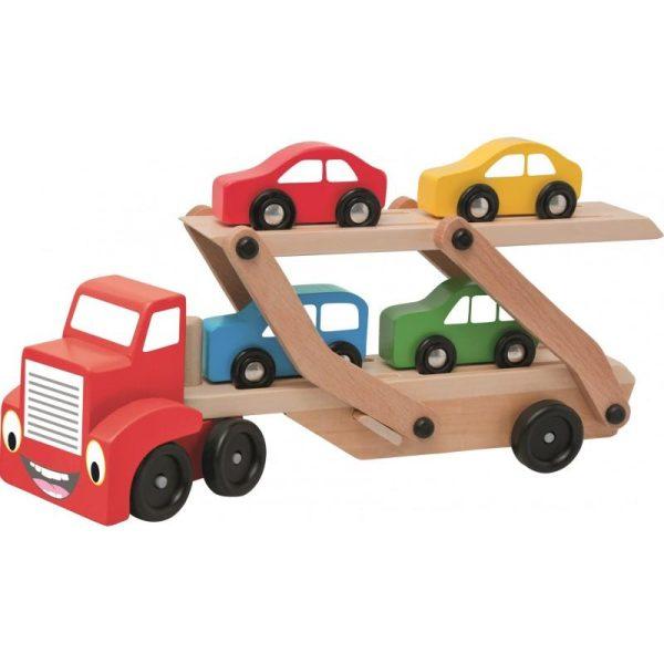 Automobilių pervėžimo sunkvežimis