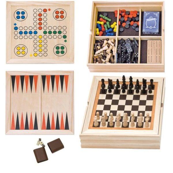 Didelis stalo žaidimų rinkinys